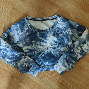 Balance Athletica waves crop sweater